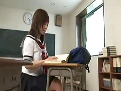 Asian schoolgirl gets punished