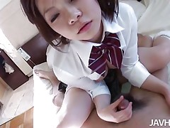 riko masaki gets vibrator rubbed on her pussy
