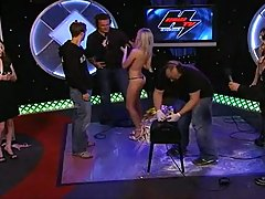 Sweet Polish Kasia - Sybian Ride on TV show