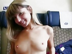 Czech girl banged and mouthful of cum