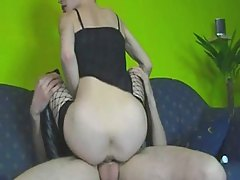 Hot Teen Gets Ass Fucked