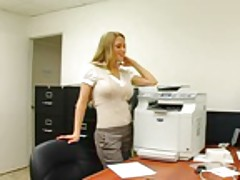 Busty secretary fucked by her boss