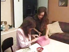 Mature Lesbian Mom Seducing Younger Girl