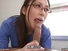 japanese doctor gives an awesome sex